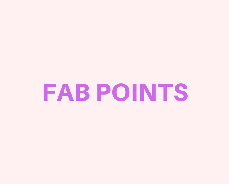 Fab Points - The Best Jewelry Reward Program.