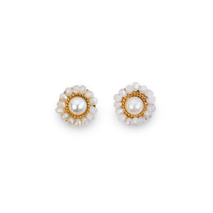 The Sun-Floral Stud Earrings - Fab Collection Jewelry