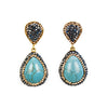Imperial Kiss Statement Drop Earrings - Fab Collection Jewelry