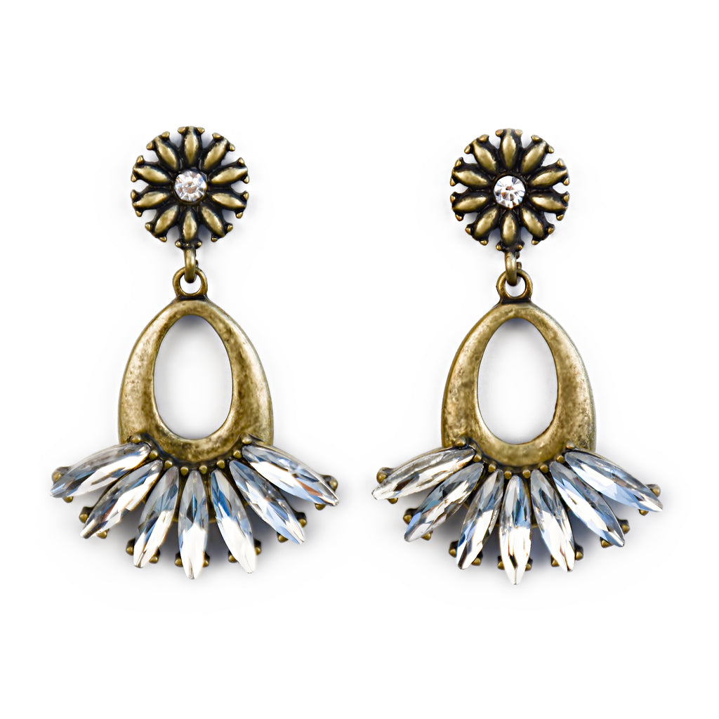Your Highness Drop Earrings - Fab Collection Jewelry