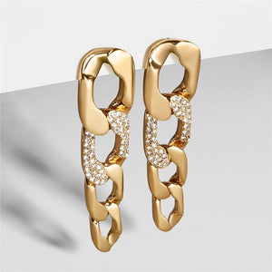 Tala Chain Drop Earrings - Fab Collection Jewelry
