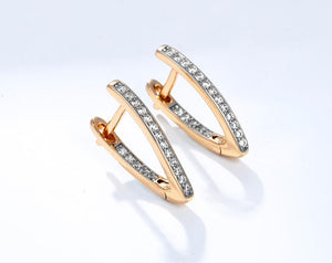 Isla Crystal Earrings - Fab Collection Jewelry