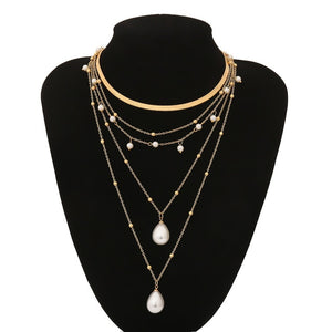 Abby Multi Layer Necklace - Fab Collection Jewelry