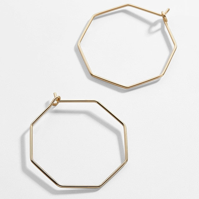 Dainty Aya Hoops - Fab Collection Jewelry
