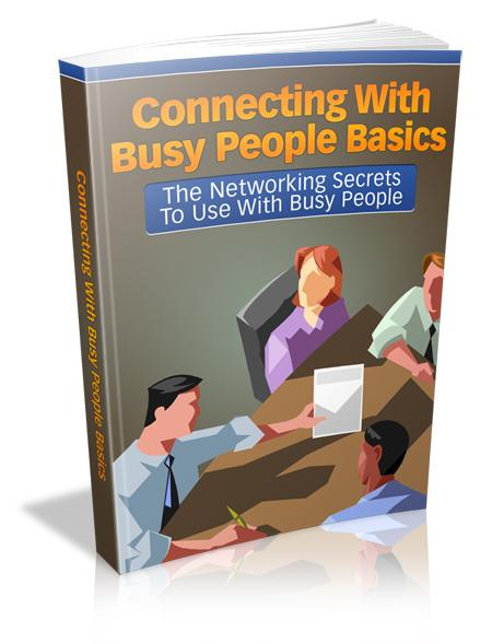 Connecting With Busy People Basics - owlsbooksnmore.com