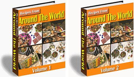 Recipes From Around  The World (2 VOL. SET) - owlsbooksnmore.com