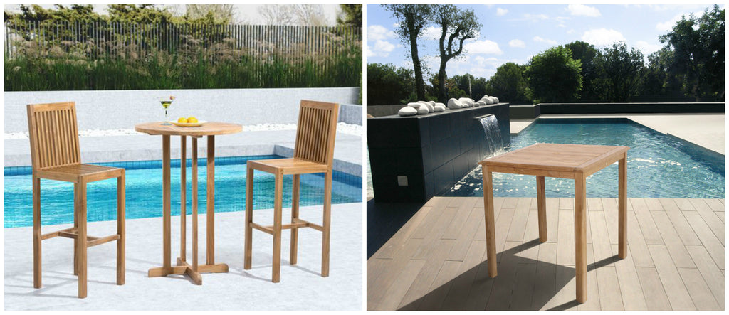 Set The Mood Of Your Patio With Chic Outdoor Bar Tables