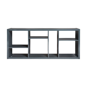 Euro Style 09702GRY Reid Shelving/Media Stand Gray 727511956298