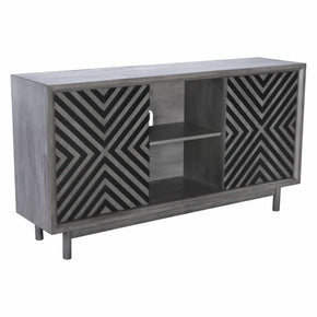 Zuo Modern 100970 Raven Buffet Old Gray