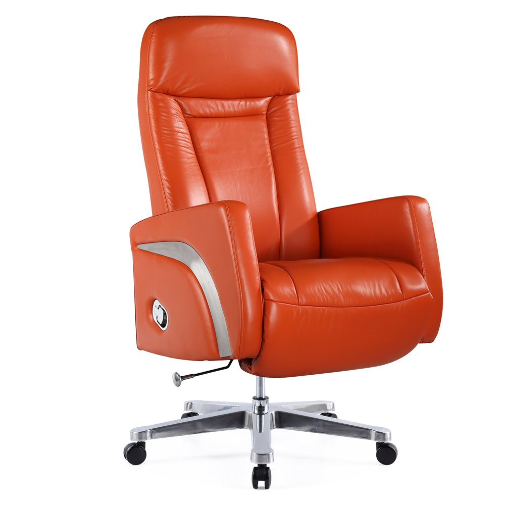 Etonnant Fine Mod Imports FMI10290 ORANGE Mason Office Chair Recliner, Orange ...