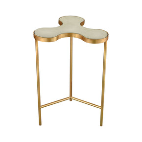 Elk Group Reims Accent Table Gold Leaf,Concrete ELK-1114-254 | 818008034282| $178.00. Side Tables - . Buy today at http://www.contemporaryfurniturewarehouse.com