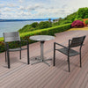 Atlantic Koningsdam 3 Piece Round Patio Dining Set
