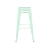 Dreux Matte Mint Steel Stackable Barstool 30 Inch (Set of 4)