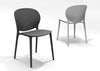 Muut Black Grey Modern Stackable Side Chair (Set of 4)