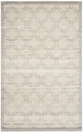 Amherst Contemporary Indoor Area Rug Ivory / Light Grey