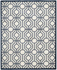 Amherst Contemporary Indoorarea Rug Ivory / Navy
