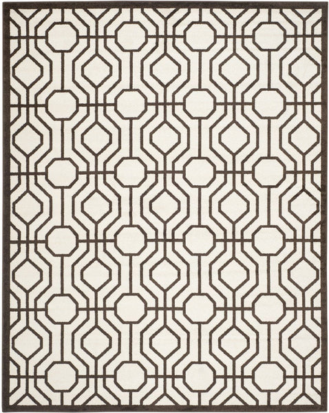 Amherst Contemporary Indoorarea Rug Ivory / Brown