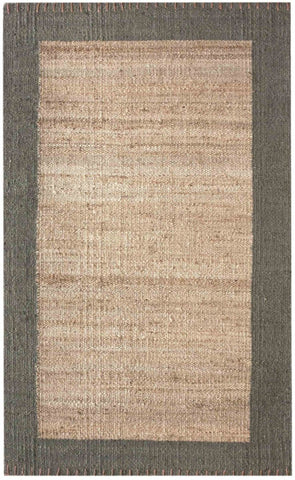 Nuloom Hand Woven Cameron Jute Natural Rug