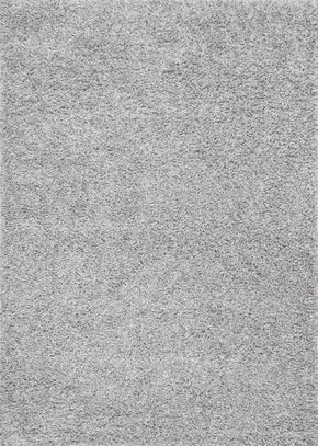 "2' 8"" x 8', Rugs, Silver - nuLOOM OZSG02O-2808 nuLOOM Marleen Plush Shag Rug Silver Rug 