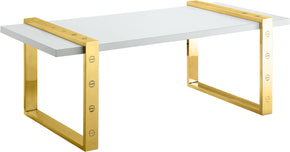 Meridian Furniture 273-C Amore Gold Coffee Table 704831400250