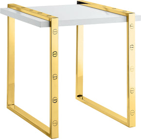 Meridian Furniture 273-E Amore Gold End Table 704831400267