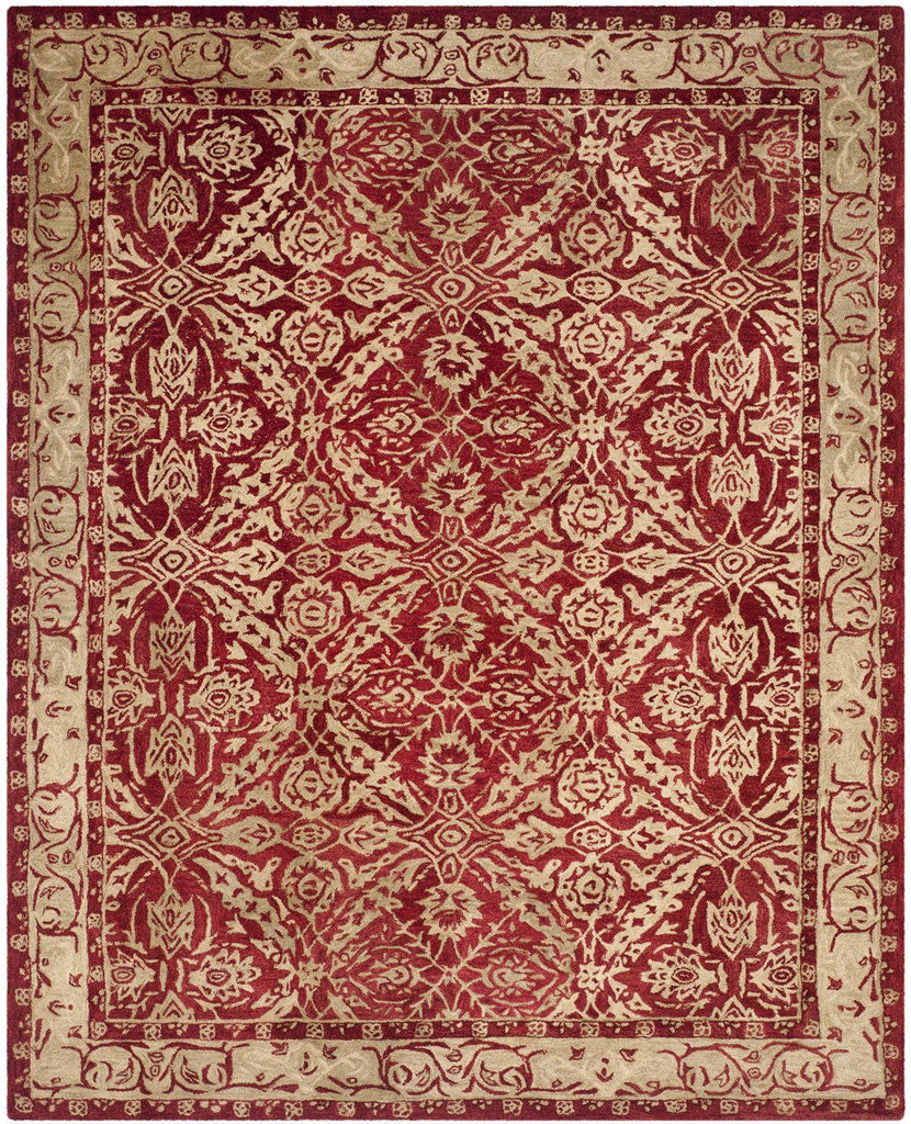 Anatolia Traditional Indoorarea Rug Red / Ivory