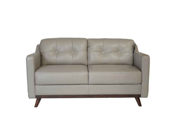 Moroni 35902MS1308 Monika Mid-Century Loveseat Medium Grey