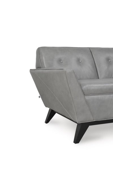 Wegner Mid-Century Loveseat Cloud
