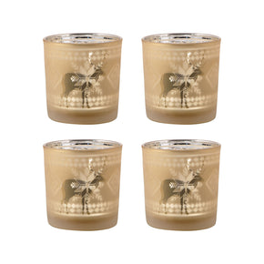 Candle Holders - Elk Group ELK-394591/S4 Reindeer Set of 4 Votive Holders Frosted Gold | 769072394591 | Only $33.60. Buy today at http://www.contemporaryfurniturewarehouse.com
