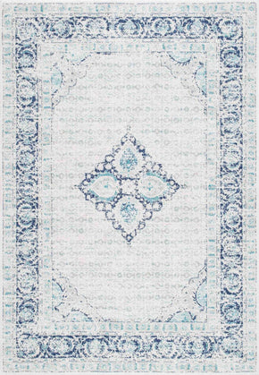 Nuloom Vintage Pauley Light Blue Rug