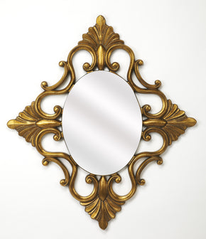 Butler Furniture 4305226 Calais Gold Wall Mirror 797379041382