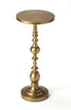 Butler Furniture 4324226 Darien Antique Gold End Table 797379041573