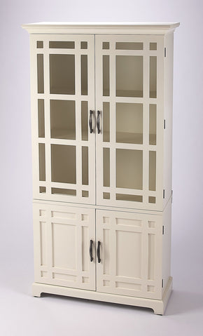 Butler Furniture 4355288 Revival White Tall Cabinet 797379045847