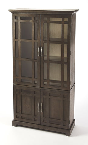 Butler Furniture 4355354 Revival Cocoa Brown Tall Cabinet 797379045854