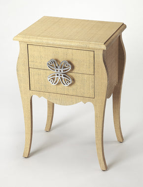 Butler Furniture 4366349 Felicia Natural Raffia End Table 797379043492