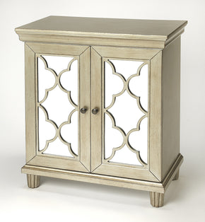 Butler Furniture 4429409 Jocelyn Silver Accent Cabinet 797379045212