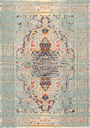 "nuLOOM KKCB23A-53077 nuLOOM Distressed Persian Sarita Grey Rug | 841388187255 | $149.80. 5' 3"" x 7' 7"", Grey, Rugs. Buy today at http://www.contemporaryfurniturewarehouse.com"