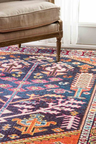 Nuloom Tribal Tonita Multi-Color Rug