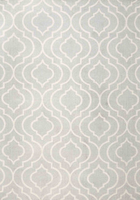 Nuloom Bridget Trellis Light Grey Rug