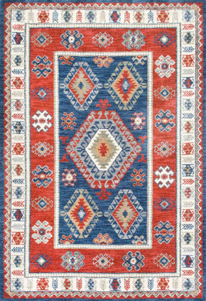 Nuloom Tribal Shavonda Multi-Color Rug