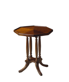 Butler Furniture 5015024 Adolphus Plantation Cherry Octagonal Accent Table 797379008101