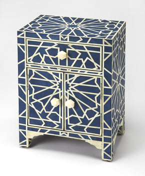 Butler Furniture 5264319 Camile Blue Bone Inlay Accent Chest 797379044512