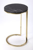 Martel Marble & Metal Side Table