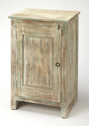 Butler Furniture 5316290 Hollister Distressed Wood Accent Cabinet 797379045359