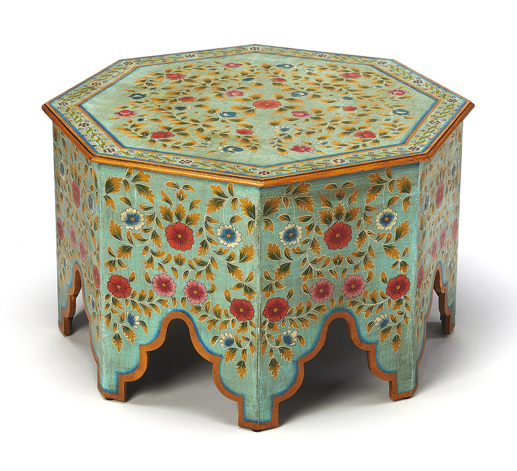 Prime Priya Hand Painted Coffee Table Onthecornerstone Fun Painted Chair Ideas Images Onthecornerstoneorg