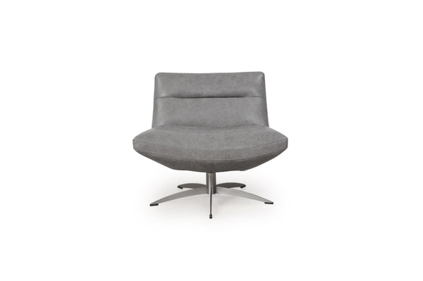 Lounge Chairs - Moroni 58001C2184 Alfio Swivel Chair Cloud | Only $1012.00. Buy today at http://www.contemporaryfurniturewarehouse.com