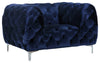 Mercer Navy Velvet Chair