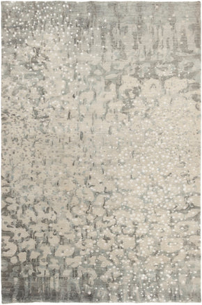 Watercolor Area Rug Gray