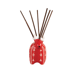 Diffusers/Incenses - Elk Group ELK-729027 Reindeer Reed Diffuser Red,White | 769072729027 | Only $12.00. Buy today at http://www.contemporaryfurniturewarehouse.com