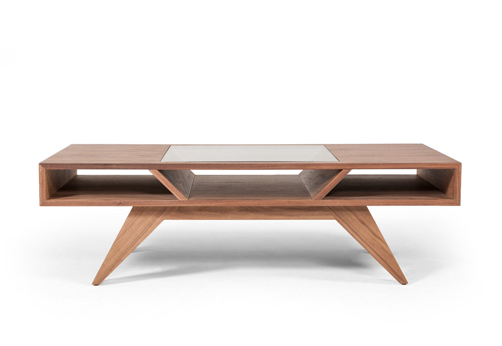 Pleasing Modrest Dublin Mid Century Modern Walnut Coffee Table Home Interior And Landscaping Oversignezvosmurscom